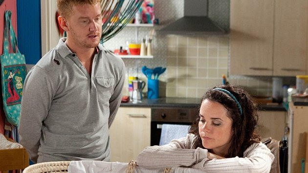 Gary and Izzy get to grips with parenthood
