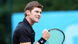 Sam Barry is into the last four at the Irish Tennis Open