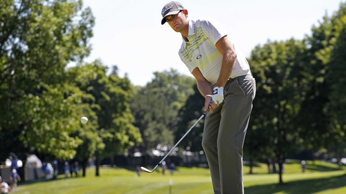 Brendan Steel hit eight birdies en route to a seven-under 65 in Canada
