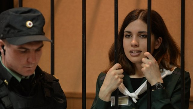 Nadezhda Tolokonnikova was denied parole in her latest court attempt for release