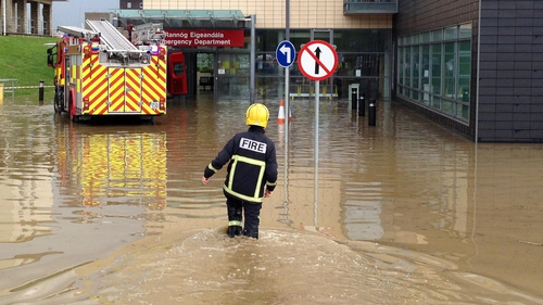The flooding happened a week and a half ago. (Pic: Declan Doherty)