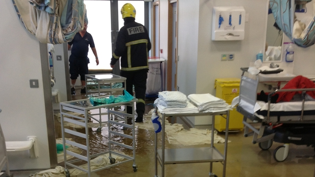 Emergency services at the hospital said there was no danger to patients (Picture: DonegalDaily.com)