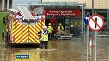 Floods force evacuation of Letterkenny A&E unit