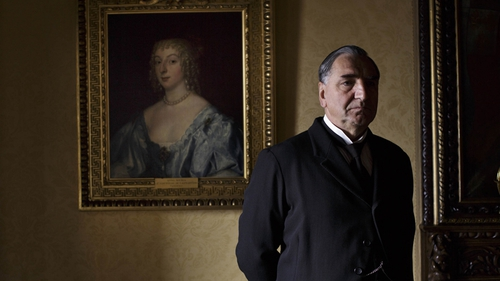 Jim Carter as Mr Carson in Downton Abbey