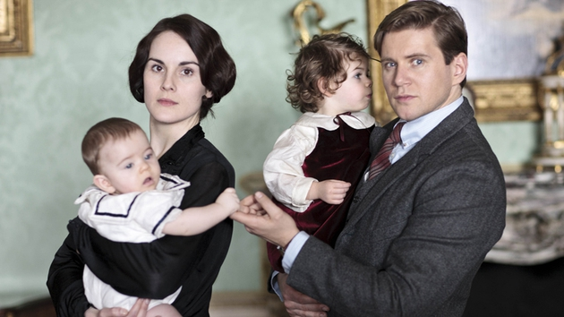 Final episode of Downton Abbey - until the Xmas special