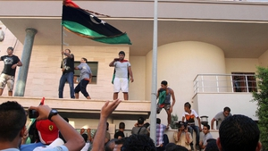 Protesters attacked the Benghazi and Tripoli offices of the Muslim Brotherhood's political party today