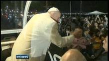 Pope Francis addresses over 1m pilgrims in Brazil