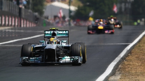 Lewis Hamilton has won four of the seven races that he has contested at the Hungaroring