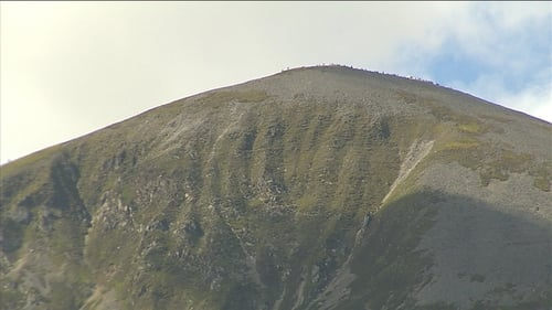 Croagh Patrick has over 100,000 visitors annually