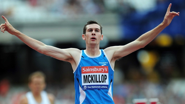 Michael McKillop has added another gold medal to his trophy cabinet
