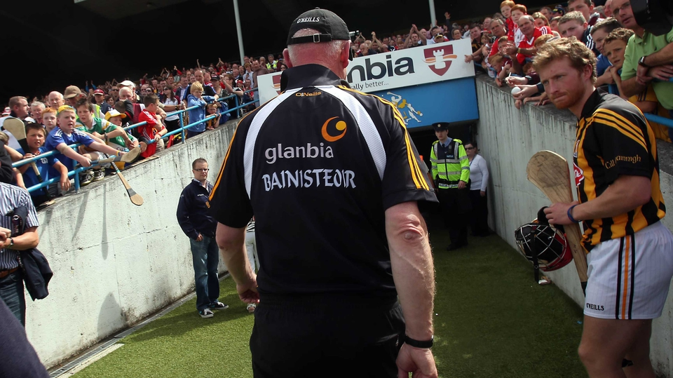 ...as his team failed to contain Cork and lost by 0-19 to 0-14