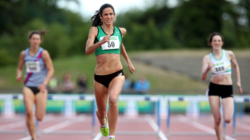 Jessie Barr has hung up her spikes