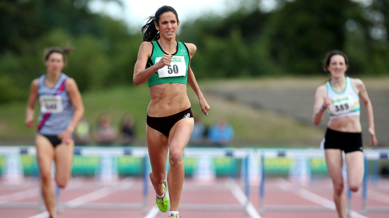 Jessie Barr getting to grips with life off the track