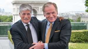 Maurice Lévy, Publicis chairman and CEO, with John Wren, president and CEO of Omnicom