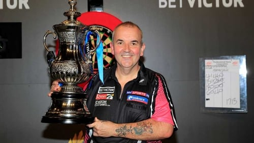 Phil Taylor's first World Matchplay title came in 1995