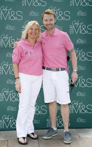 Linda and Ronan Keating