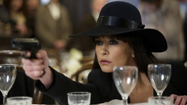 Catherine Zeta-Jones plays a Russian spy