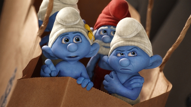 The Smurfs are as adorable looking as ever