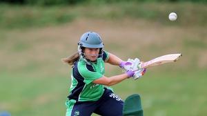 Isobel Joyce was Ireland's top scorer in the defeat to New Zealand