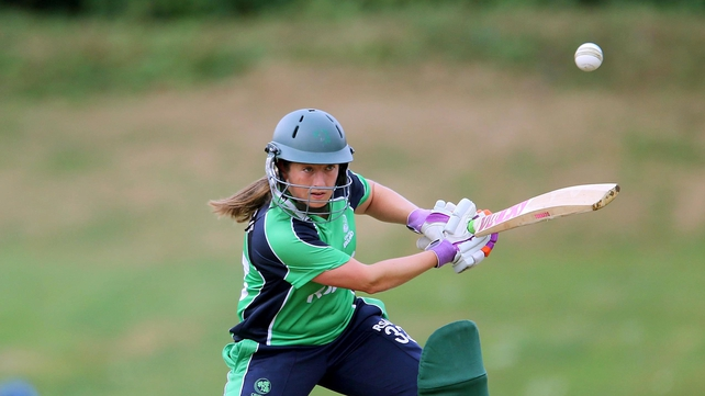 Isobel Joyce was Ireland's top batter with 32