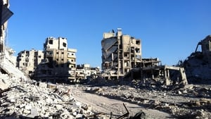 The Syrian government says rebels used chemical weapons at the Khan al-Assal site in Aleppo