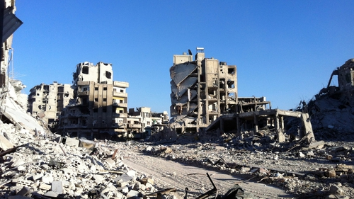 Many Syrian towns and cities have been destroyed beyond recognition