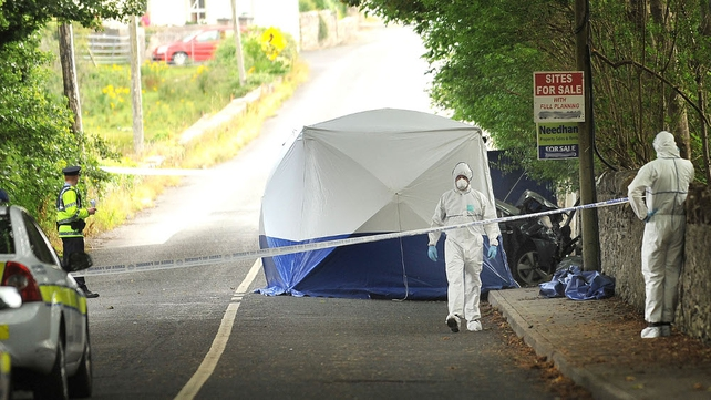 Scene has been preserved for a forensic examination (Pic: Conor McKeown)