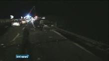 Investigators examine Italian bus wreckage