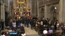 Funeral mass for train victims in Santiago de Compostela