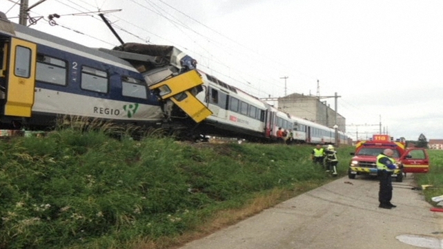 Crash occurred on a regional line in the canton of Vaud