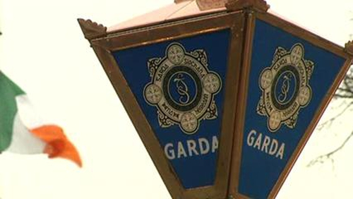Gardaí carried out search of an apartment in Portarlington this afternoon