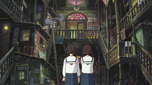 The animation lives up to Studio Ghibli's high standards