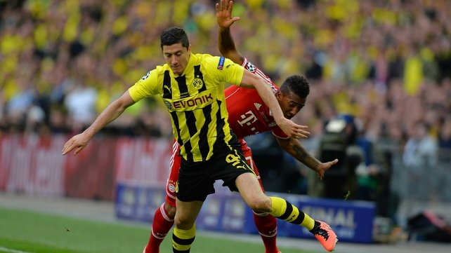 "Robert Lewandowski: ""As soon as I stand on the grass and play, then all I think about is Borussia Dortmund"""