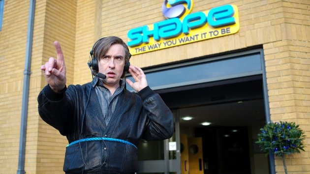 Partridge turns the whole drama into a career opportunity