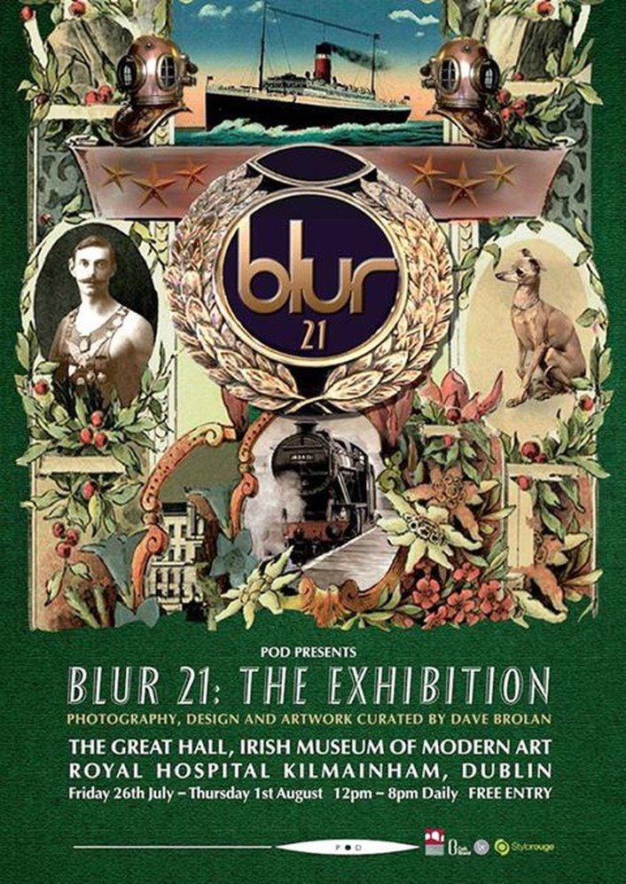 Blur - Concert & Exhibition