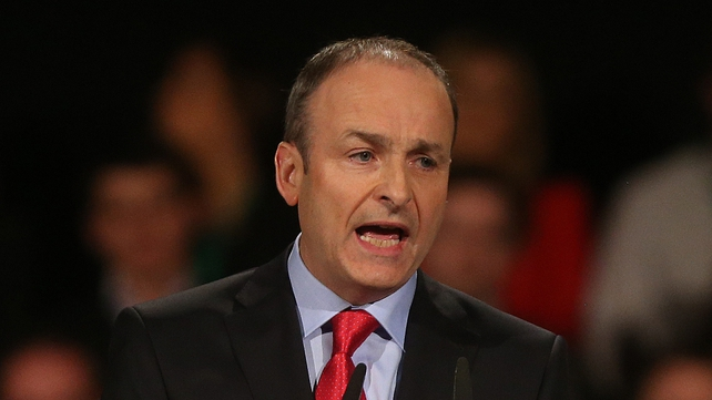 Micheál Martin said comments made by Joan Burton were incredible