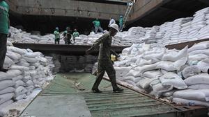 The Soviet-era arms were hidden under 10,000 tonnes of sugar