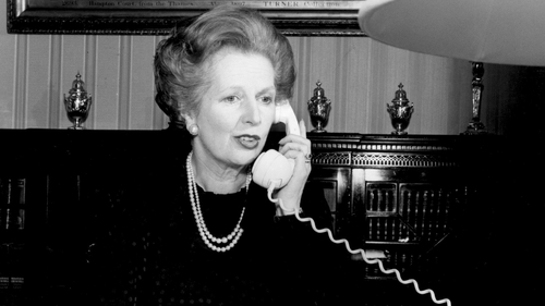 Margaret Thatcher expressed doubts 'as to whether we could solve the Northern Ireland problem'