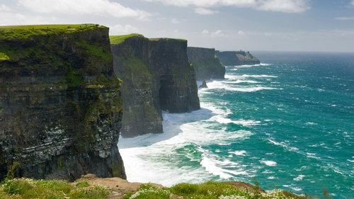 The Wild Atlantic Way runs from the Inishowen Peninsula in Co Donegal to Kinsale in Co Cork