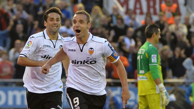 Roberto Soldado scored 24 goals for Valencia last season