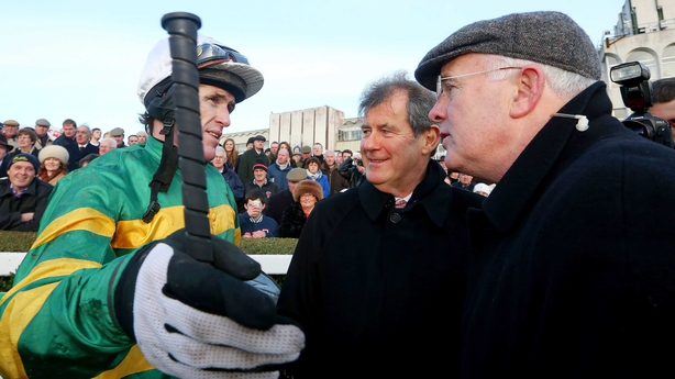 AP McCoy and Ted Walsh