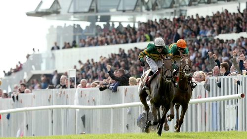 Tony McCoy steered Carlingford Lough home in Galway