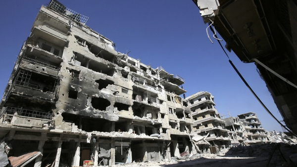 The city of Homs has been at the centre of military conflict in Syria