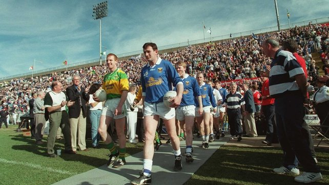 Kerry and Cavan last met in the Championship in 1997 - that year they also played in Downing Stadium in New York