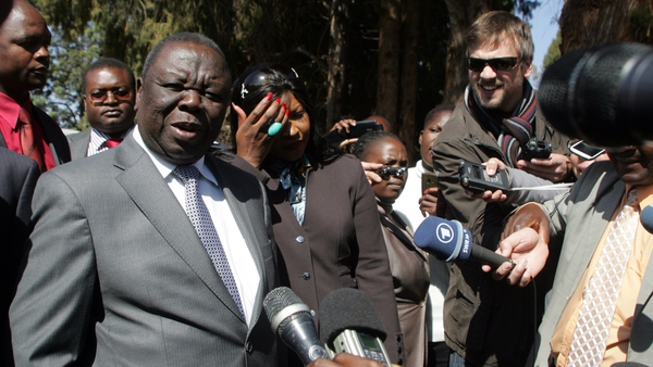Prime minister Morgan Tsvangirai claims the election results were invalid because of ballot-rigging