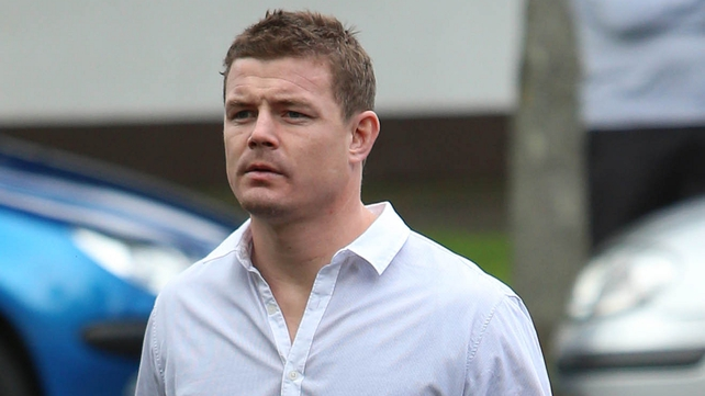Irish rugby player Brian O'Driscoll also attended the mass