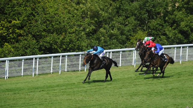 Richard Kingscote partnered Brown Panther to victory