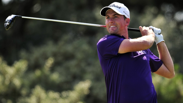 Webb Simpson is six under after the first round