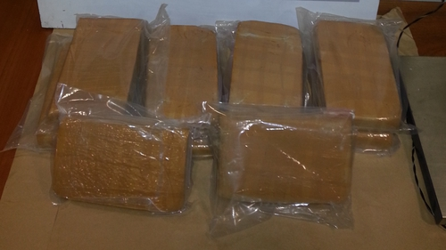 10.26kg of heroin was found in a Mercedes jeep disembarking from a ferry from France