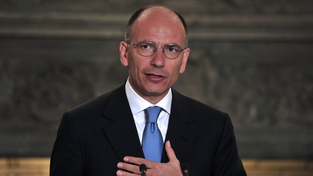 Enrico Letta has said that the last thing the government needs is to be worn down by partisan battles